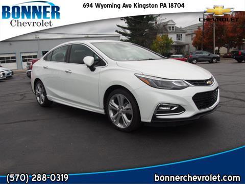 2018 Chevrolet Cruze for sale in Kingston, PA