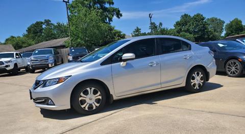 2015 Honda Civic for sale in Houston, TX