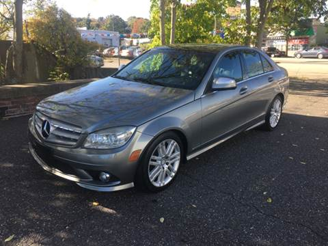 2009 Mercedes-Benz C-Class for sale at ANDONI AUTO SALES in Worcester MA