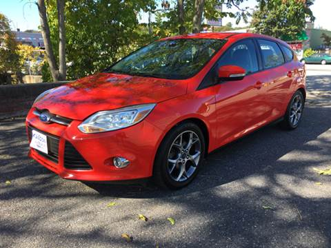 2014 Ford Focus for sale at ANDONI AUTO SALES in Worcester MA