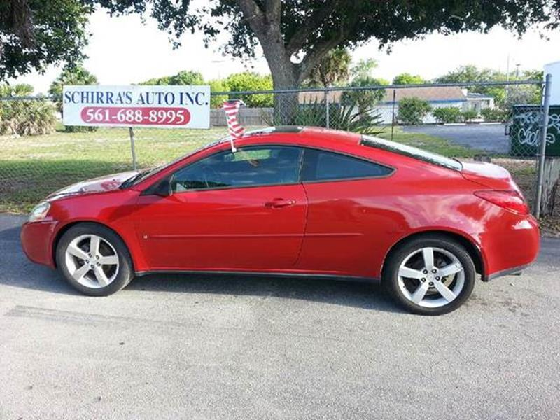 2006 PONTIAC G6 GTP 2DR COUPE red please call schirras auto at 888-227-9796 have bad credit hav