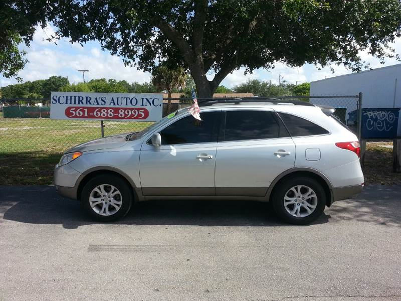 2010 HYUNDAI VERACRUZ GLS 4DR CROSSOVER silver please call schirras auto at 888-227-9796 have ba