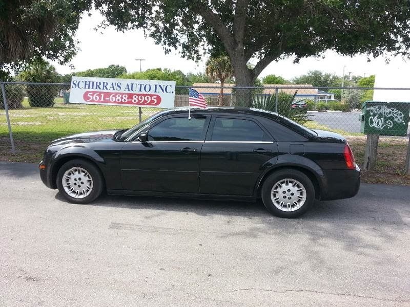 2006 CHRYSLER 300 BASE 4DR SEDAN black please call schirras auto at 888-227-9796 have bad credit