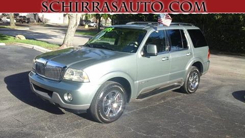 2005 Lincoln Aviator for sale in West Palm Beach, FL