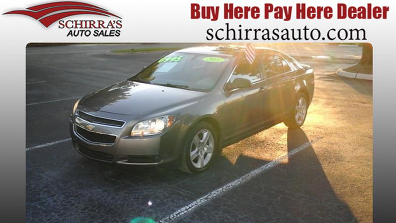Chevrolet Malibu LS In West Palm Beach FL Schirras Auto Sales - Chevrolet dealers in west palm beach