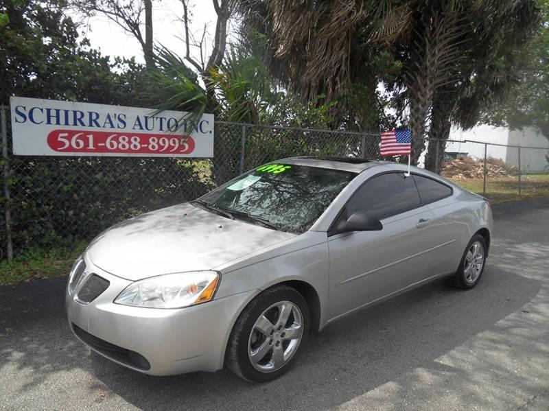 2006 pontiac g6 gt 2dr coupe in west palm beach fl schirra 39 s auto sales. Black Bedroom Furniture Sets. Home Design Ideas