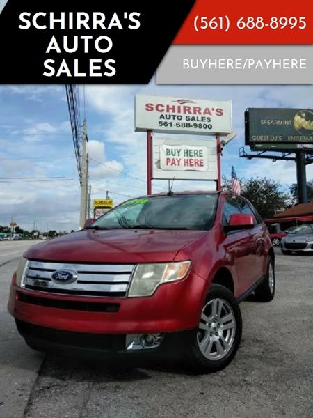 2008 ford edge se 4dr crossover in west palm beach fl schirra 39 s auto sales. Black Bedroom Furniture Sets. Home Design Ideas