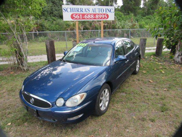 2005 BUICK LACROSSE CXS 4DR SEDAN blue please call schirras auto at 888-227-9796 have bad credit