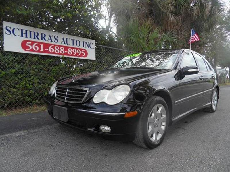 2005 mercedes benz c class in west palm beach fl schirra for Mercedes benz west palm beach florida