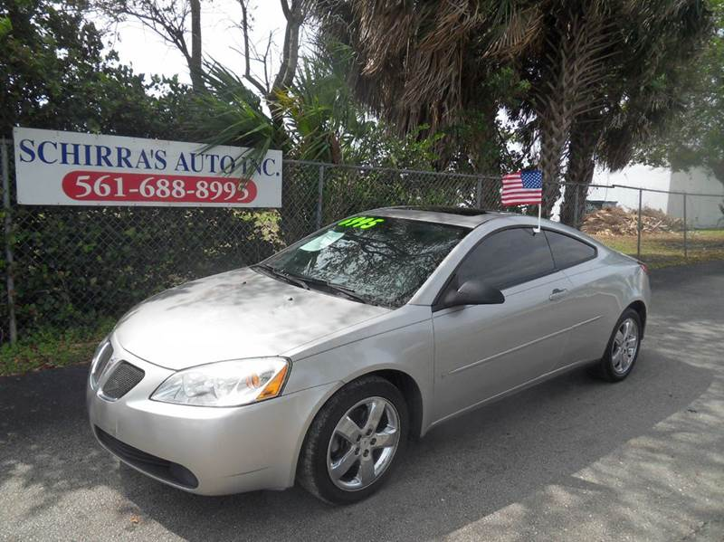 2006 PONTIAC G6 GT 2DR COUPE silver please call schirras auto at 888-227-9796  have bad credit