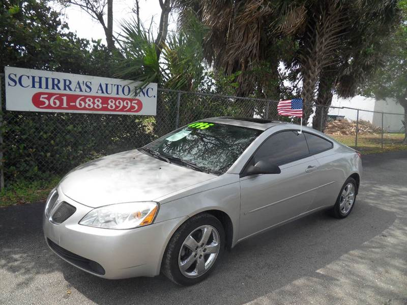 2006 PONTIAC G6 GT 2DR COUPE silver please call schirras auto at 888-227-9796 have bad credit h