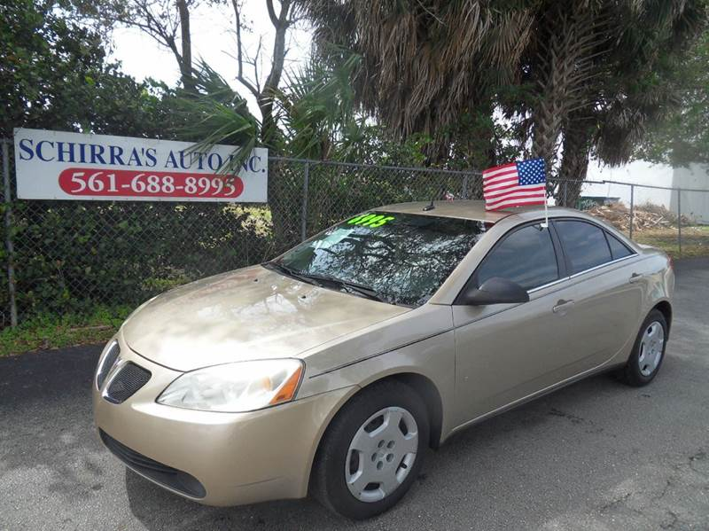 2008 PONTIAC G6 VALUE LEADER 4DR SEDAN gold please call schirras auto at 888-227-9796  have bad