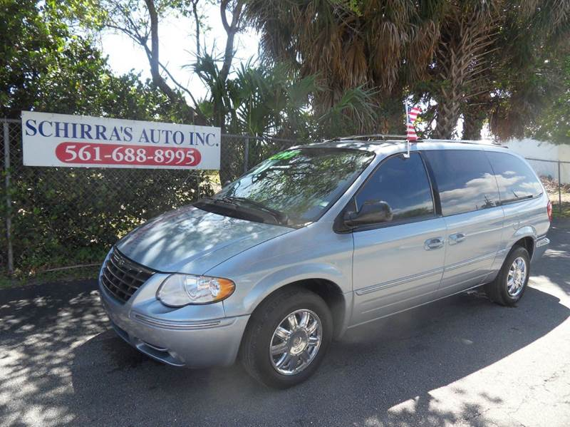 2005 CHRYSLER TOWN AND COUNTRY LIMITED 4DR EXTENDED MINI VAN blue please call schirras auto at 8