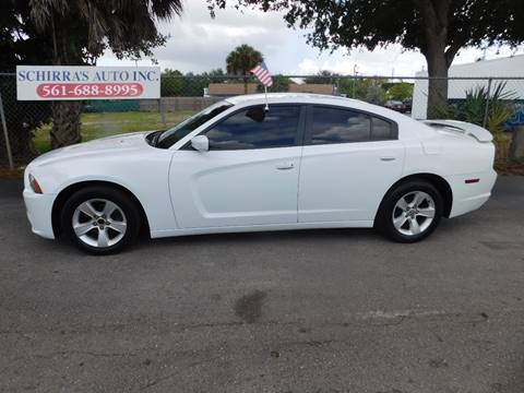 2013 dodge charger for sale in west palm beach fl - Dodge Charger 2013 White Black Rims