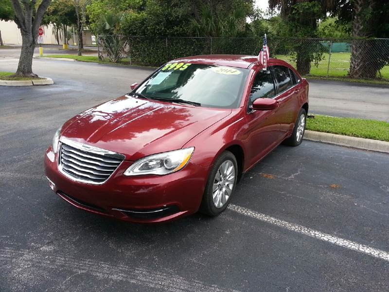2014 CHRYSLER 200 LX 4DR SEDAN red please call schirras auto at 888-227-9796 have bad credit ha