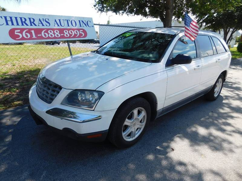 2004 CHRYSLER PACIFICA BASE AWD 4DR WAGON white vehicle description please call schirras auto at