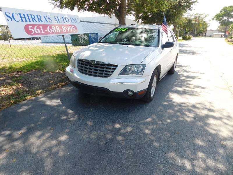 2004 CHRYSLER PACIFICA BASE AWD 4DR WAGON white please call schirras auto at 888-227-9796 have b