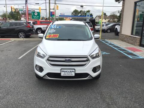 2018 Ford Escape for sale at Steves Auto Sales in Little Ferry NJ