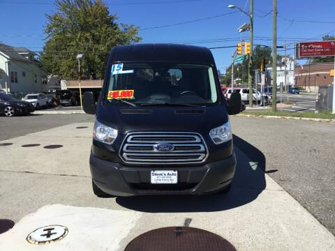 2015 Ford Transit Passenger for sale at Steves Auto Sales in Little Ferry NJ