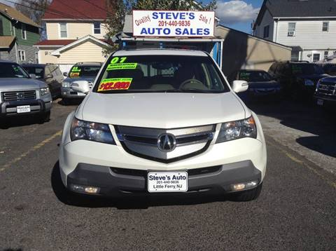 2007 Acura MDX for sale at Steves Auto Sales in Little Ferry NJ
