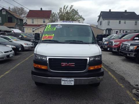 2015 GMC Savana Cargo for sale at Steves Auto Sales in Little Ferry NJ