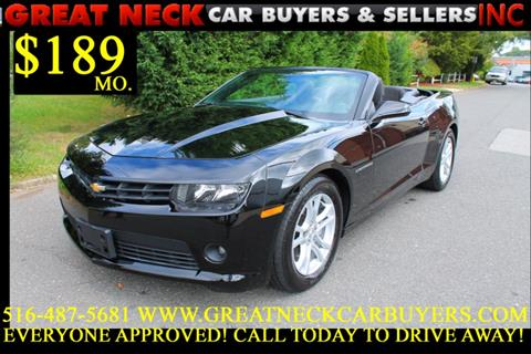 2015 Chevrolet Camaro for sale in Great Neck, NY