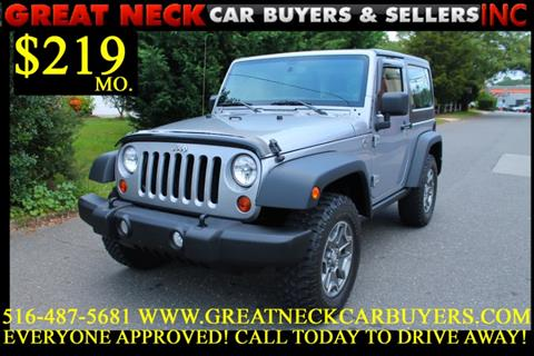 2013 Jeep Wrangler for sale in Great Neck, NY