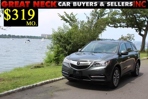 2015 Acura MDX for sale in Great Neck, NY