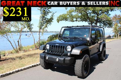 2014 Jeep Wrangler Unlimited for sale in Great Neck, NY