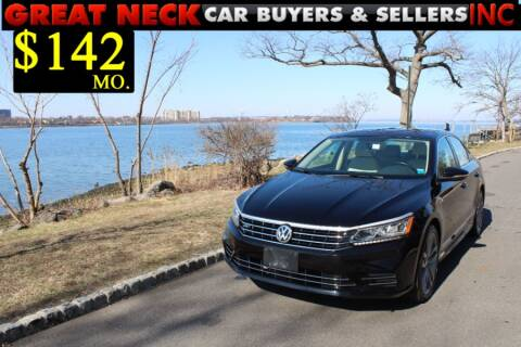 2017 Volkswagen Passat 1.8T R-Line for sale at Great Neck Car Buyers in Great Neck NY