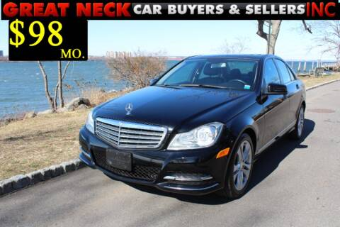 2014 Mercedes-Benz C-Class for sale at Great Neck Car Buyers in Great Neck NY