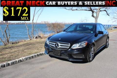 2014 Mercedes-Benz E-Class for sale at Great Neck Car Buyers in Great Neck NY