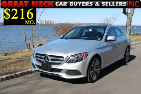 2016 Mercedes-Benz C-Class for sale at Great Neck Car Buyers in Great Neck NY