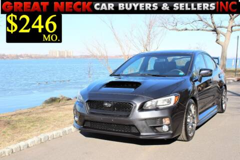 2015 Subaru WRX STI Limited for sale at Great Neck Car Buyers in Great Neck NY