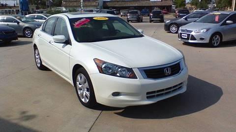 2008 Honda Accord for sale in Garden City, KS