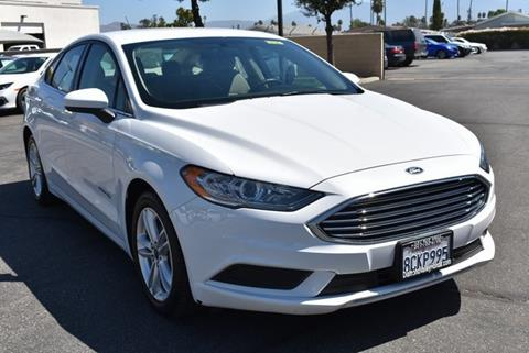 2018 Ford Fusion Hybrid for sale in Hemet, CA