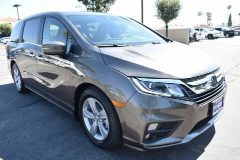2020 Honda Odyssey for sale at DIAMOND VALLEY HONDA in Hemet CA