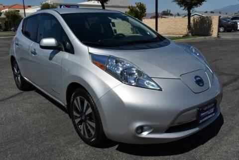 2017 Nissan LEAF for sale at DIAMOND VALLEY HONDA in Hemet CA