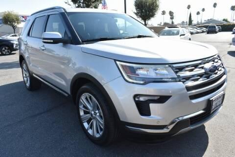 2019 Ford Explorer for sale at DIAMOND VALLEY HONDA in Hemet CA