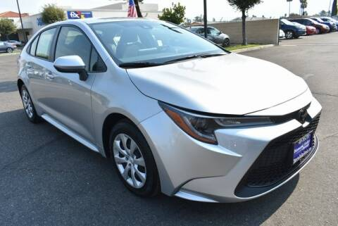 2020 Toyota Corolla for sale at DIAMOND VALLEY HONDA in Hemet CA
