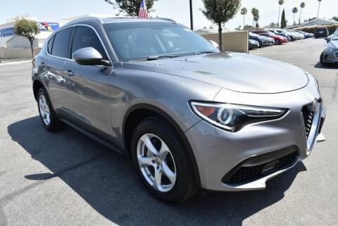 2018 Alfa Romeo Stelvio for sale at DIAMOND VALLEY HONDA in Hemet CA
