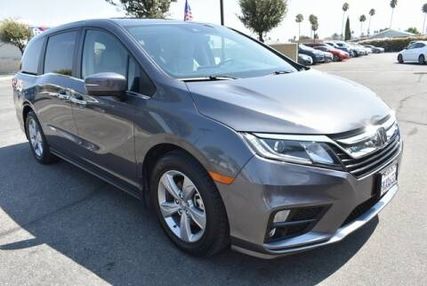 2019 Honda Odyssey for sale at DIAMOND VALLEY HONDA in Hemet CA
