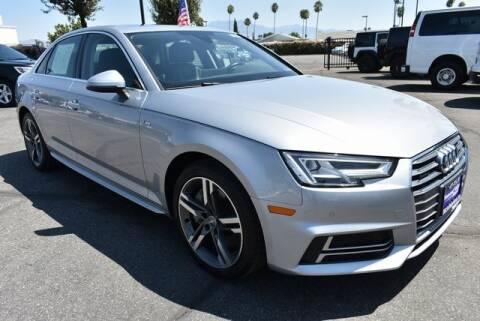 2018 Audi A4 for sale at DIAMOND VALLEY HONDA in Hemet CA