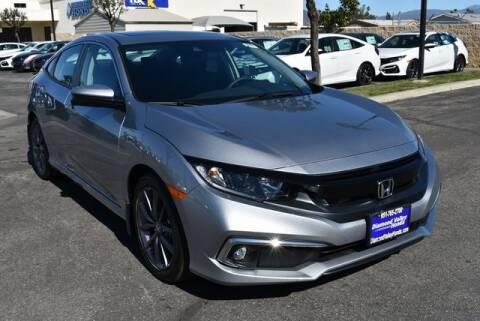 2020 Honda Civic for sale at DIAMOND VALLEY HONDA in Hemet CA