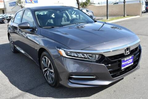 2020 Honda Accord Hybrid for sale at DIAMOND VALLEY HONDA in Hemet CA