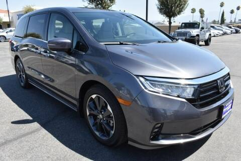 2021 Honda Odyssey for sale at DIAMOND VALLEY HONDA in Hemet CA