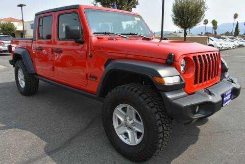 2020 Jeep Gladiator for sale at DIAMOND VALLEY HONDA in Hemet CA