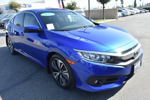 2018 Honda Civic for sale at DIAMOND VALLEY HONDA in Hemet CA
