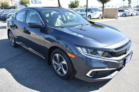 2020 Honda Civic for sale at DIAMOND VALLEY HONDA in Hemet CA