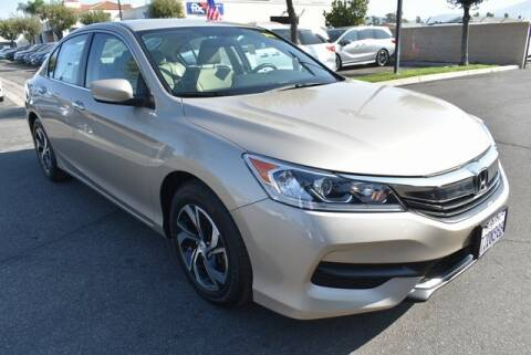 2017 Honda Accord for sale at DIAMOND VALLEY HONDA in Hemet CA